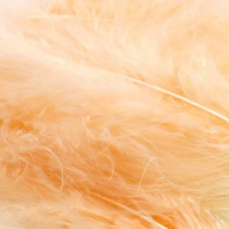 Plumes de dinde - Couleur saumon