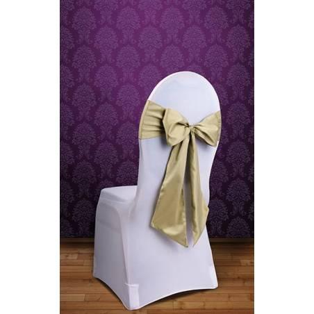 Housses de chaise or clair 015 x 275