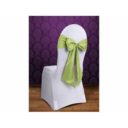Housses de chaise vert clair 015 x 275
