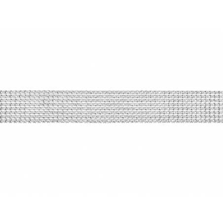 Bande de strass argent 4x900cm