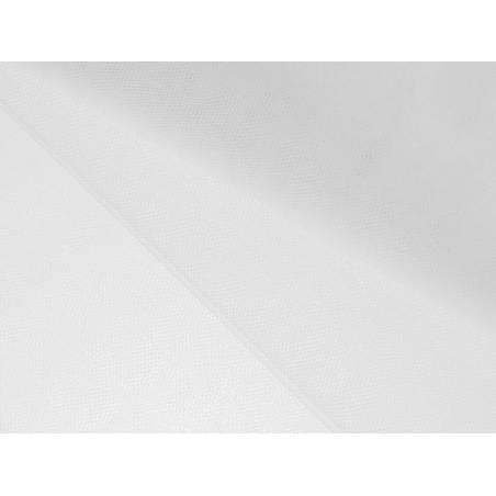 Tulle fin filet blanc 15 x 10m