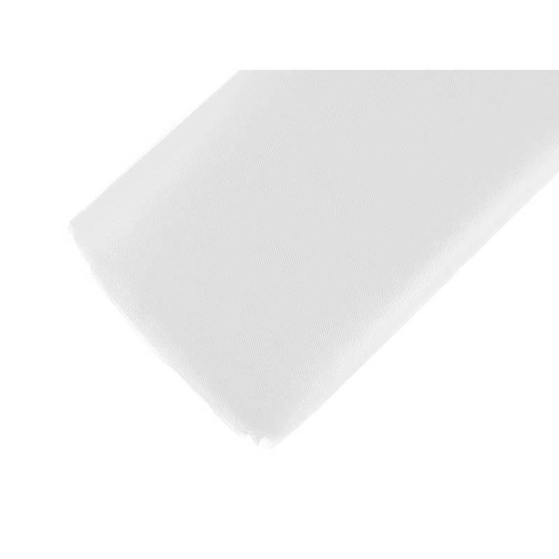 Tulle fin filet blanc 15 x 50m