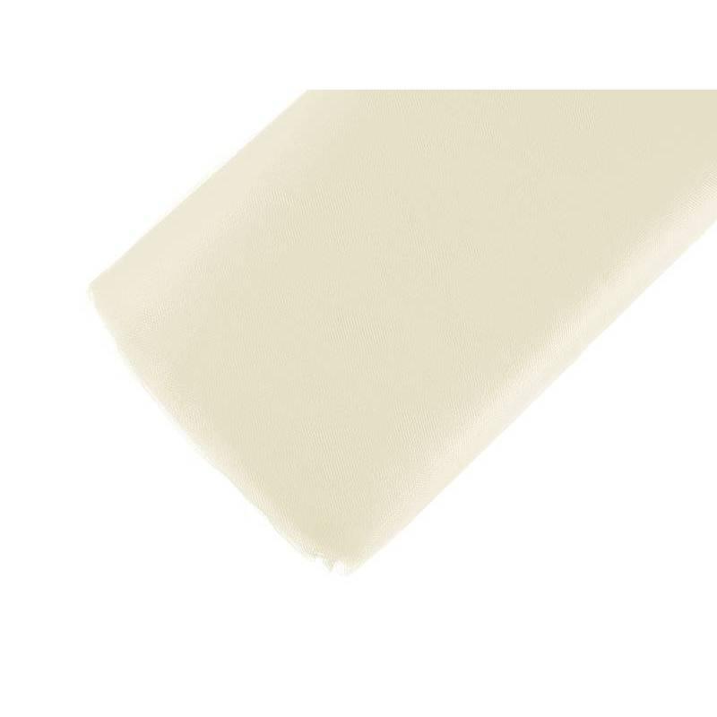 Tulle fin filet crème 15 x 50m