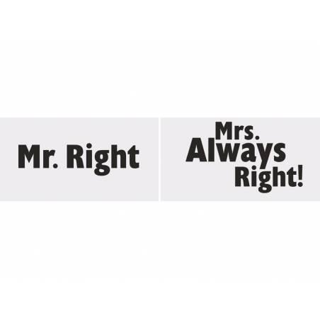Planches drôles M. Droite / Mme. Toujours raison!