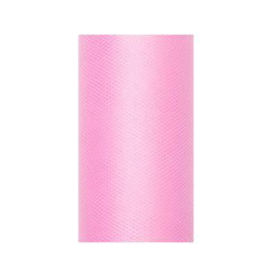 Tulle Uni rose clair 015 x 9m