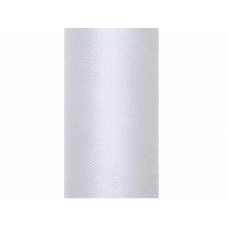 Tulle Uni gris clair 015 x 9m