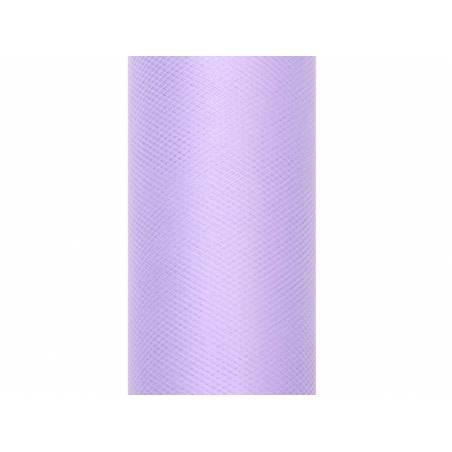 Tulle Plain lilas 0.3 x 9m