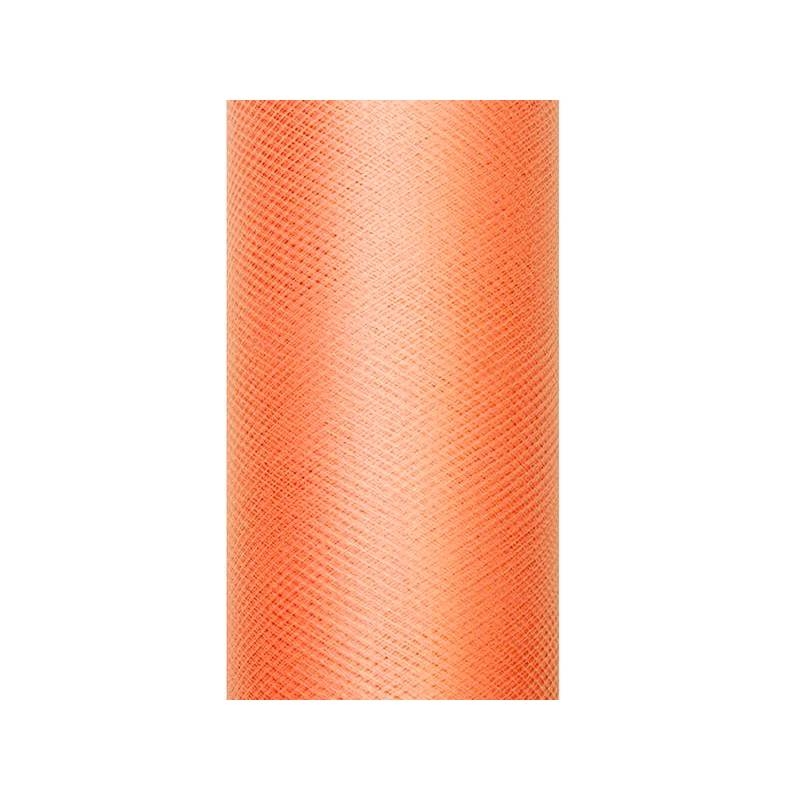 Tulle Uni orange 0.3 x 9m