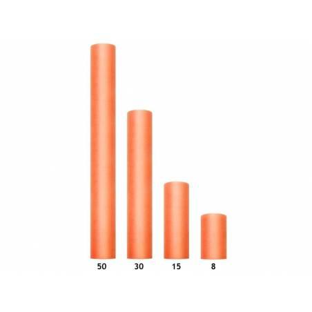 Tulle Uni orange 0.3 x 9m